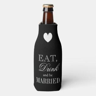 Coma la bebida y esté casado casando enfriador de botellas