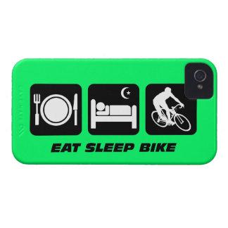 coma la bici del sueño iPhone 4 Case-Mate carcasa