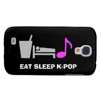 Coma la caja de Kpop Samsung S4 del sueño