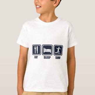 Coma la camiseta de la repetición del sueño que