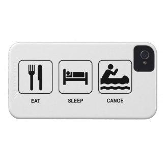 Coma la canoa del sueño iPhone 4 protector