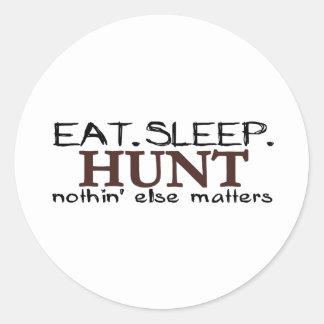 Coma la caza del sueño etiquetas