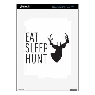 Coma la caza del sueño iPad 3 skins