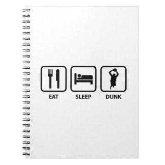 Coma la clavada del sueño cuadernos