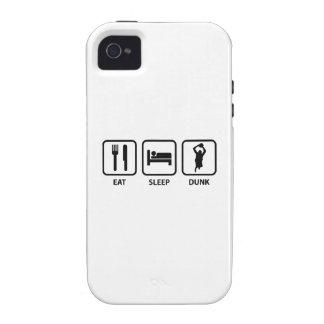 Coma la clavada del sueño Case-Mate iPhone 4 fundas