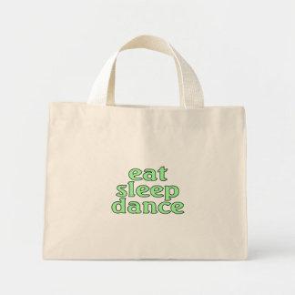 coma la danza del sueño bolsa de tela pequeña