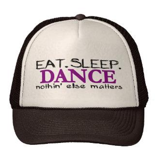 Coma la danza del sueño gorro de camionero