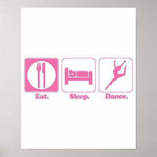 coma la danza del sueño póster