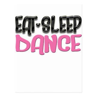 coma la danza del sueño tarjeta postal