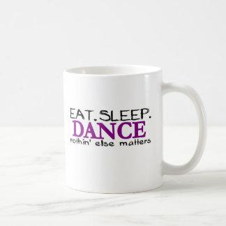 Coma la danza del sueño tazas