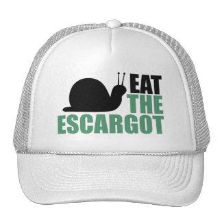 Coma la delicadeza del caracol de tierra de Escarg Gorros