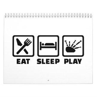 Coma la gaita del sueño calendario