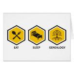 Coma la genealogía del sueño felicitaciones