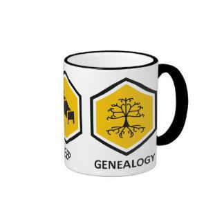 Coma la genealogía del sueño taza de café