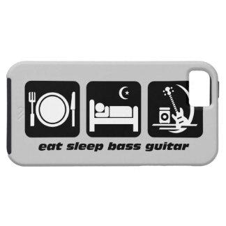 coma la guitarra baja del sueño funda para iPhone 5 tough