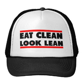 Coma la mirada limpia limpia gorra