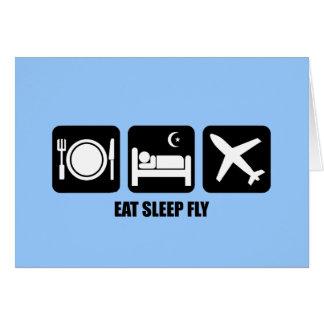 coma la mosca del sueño felicitacion