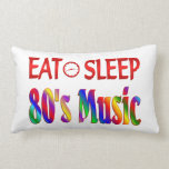 Coma la música de los años 80 del sueño cojines