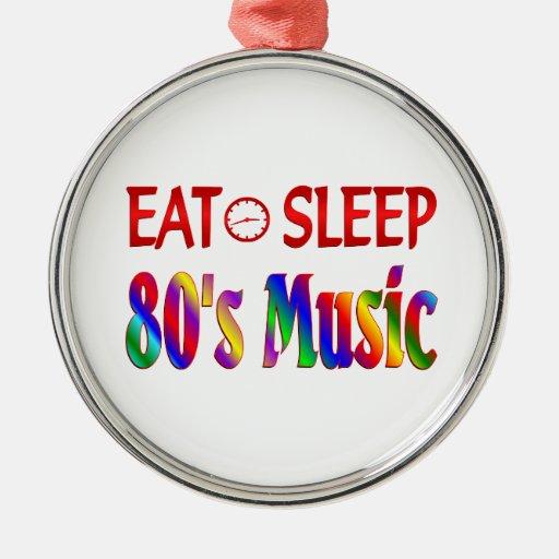 Coma la música de los años 80 del sueño ornamento para reyes magos