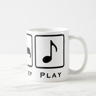 coma la música del sueño taza clásica
