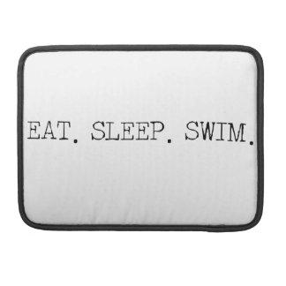 Coma la nadada del sueño fundas para macbook pro
