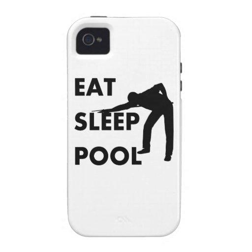 Coma la piscina del sueño iPhone 4/4S funda