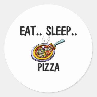 Coma la PIZZA del sueño Pegatina