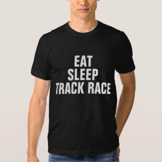 Coma la raza de la pista del sueño remeras