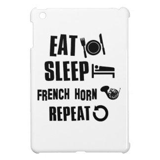 Coma la repetición de la trompa del sueño