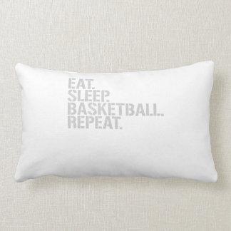 Coma la repetición del baloncesto del sueño almohada