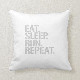 Coma la repetición del funcionamiento del sueño cojines