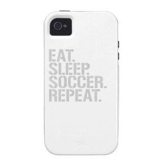 Coma la repetición del fútbol del sueño