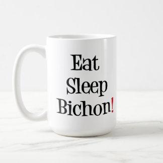 Coma la taza de Bichon del sueño