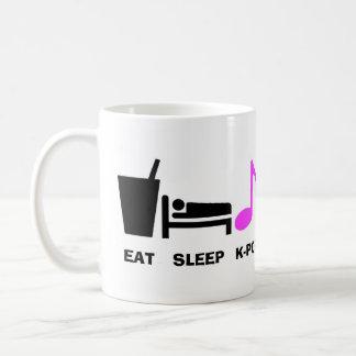 Coma la taza de Kpop del sueño