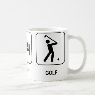 Coma la taza del golf del sueño