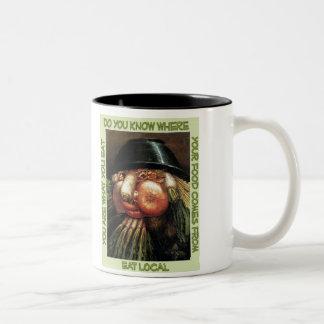Coma la taza local