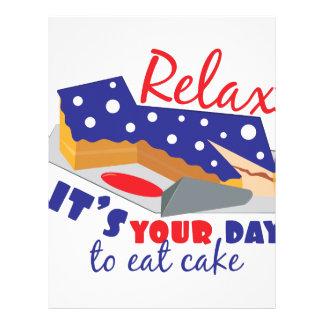 Coma la torta membretes personalizados