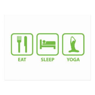 Coma la yoga del sueño postales