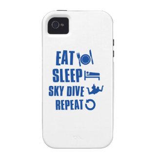 Coma la zambullida de Skye del sueño iPhone 4/4S Carcasas