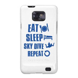 Coma la zambullida de Skye del sueño Samsung Galaxy S2 Carcasa