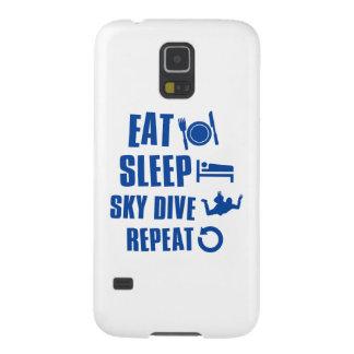 Coma la zambullida de Skye del sueño Carcasa De Galaxy S5
