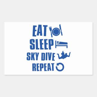Coma la zambullida de Skye del sueño Rectangular Altavoces