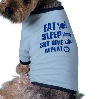 Coma la zambullida de Skye del sueño Camisas De Perritos