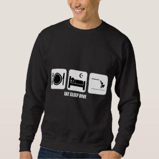 coma la zambullida del sueño suéter