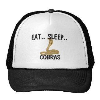 Coma las COBRAS del sueño Gorros Bordados