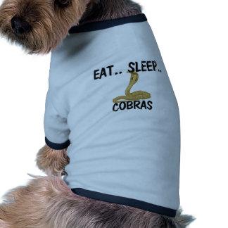 Coma las COBRAS del sueño Ropa De Perros