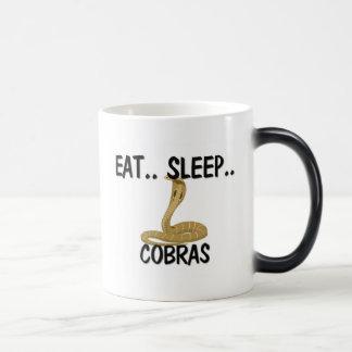 Coma las COBRAS del sueño Tazas