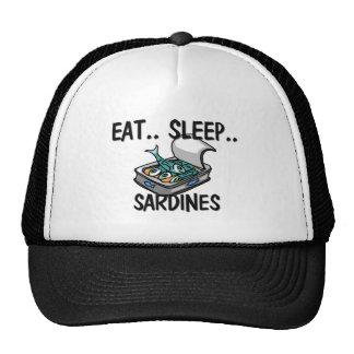 Coma las SARDINAS del sueño Gorra