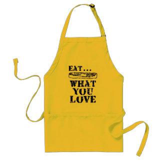 Coma lo que usted ama - tocino delantal