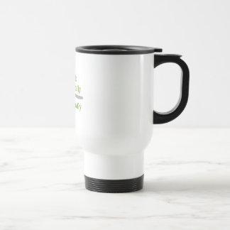 Coma localmente taza de café